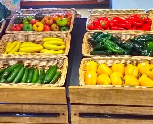 Indoor, year-round farmers market